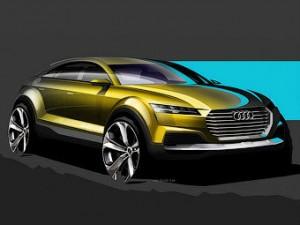 Компания Audi показала, каким будет новый кроссовер Q4
