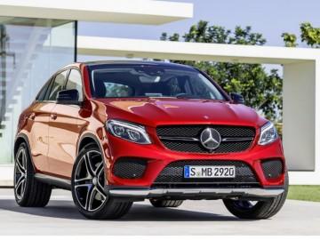 Mercedes официально представляет новый кроссовер - конкурент BMW X6