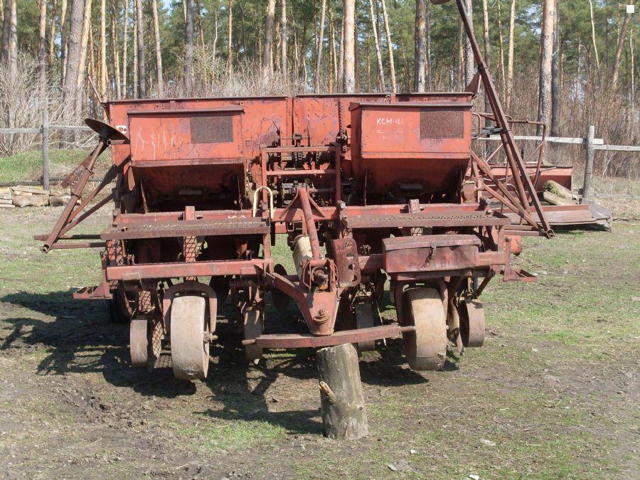 Картофель сажалка для трактора своими руками