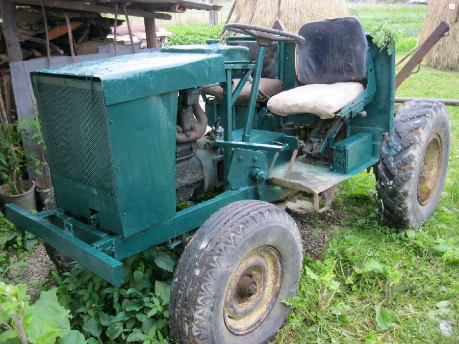 Саморобні трактори ціна фото