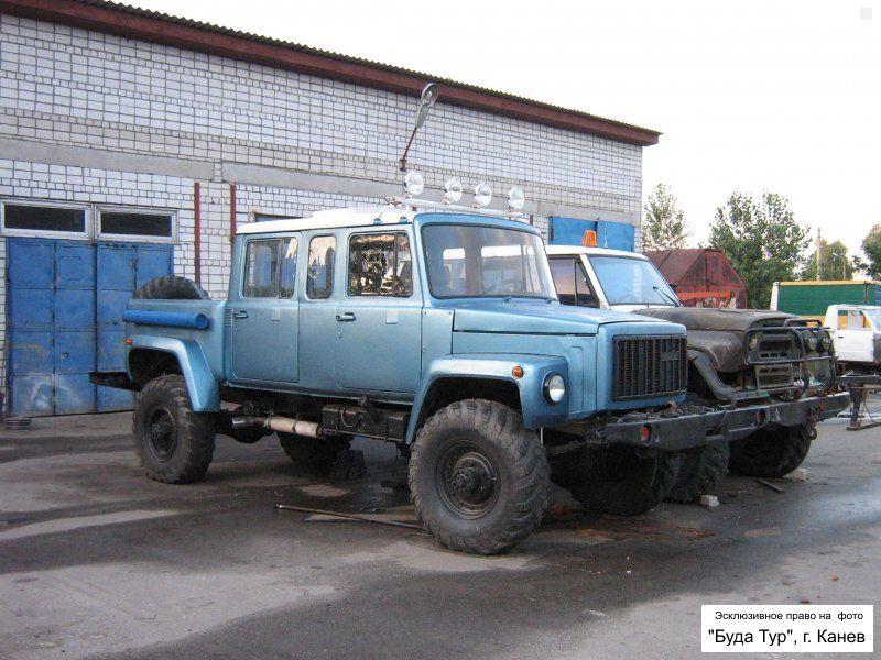 газ 3307  тюнинг
