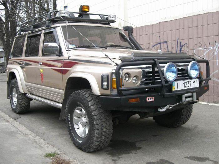 Продажа nissan patrol sgl super safari 1997 года 4.2 л, пробег 170 ZB12