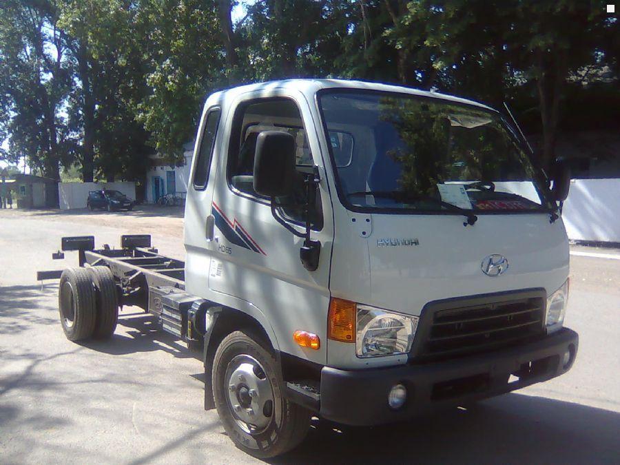 Продам новый шасси HYUNDAI HD-65…