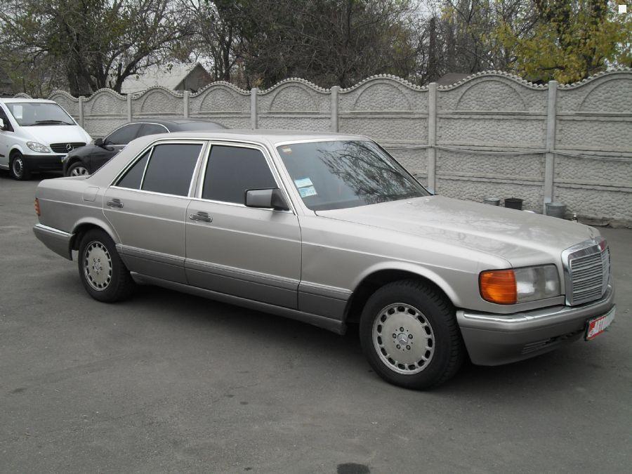 Mercedes benz s class w126 1990 3 0 for Mercedes benz 330