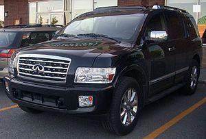 2008 qx56 specs