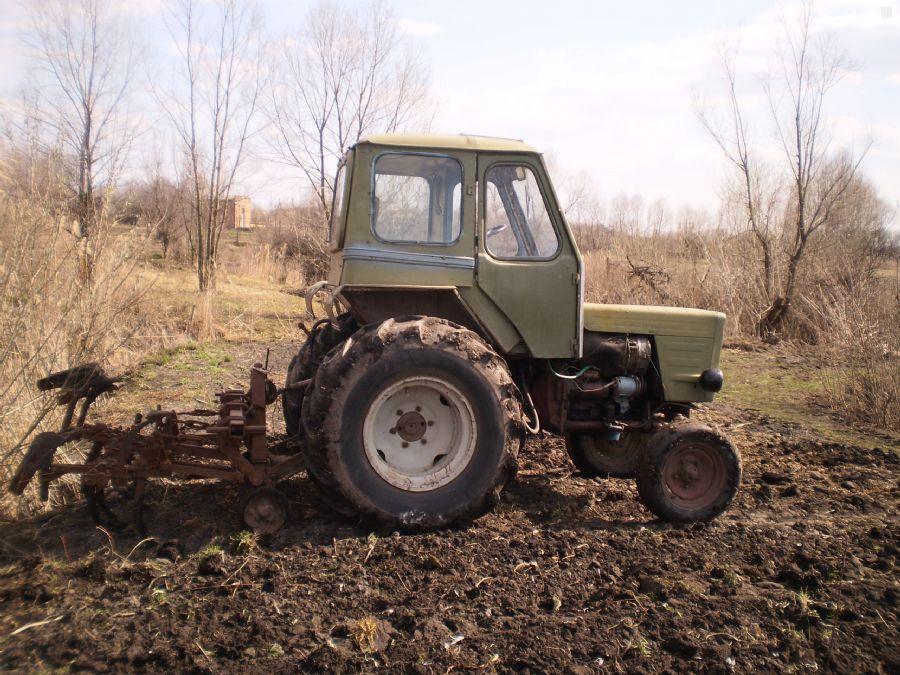 Трактор по снегу (Т-16) - YouTube