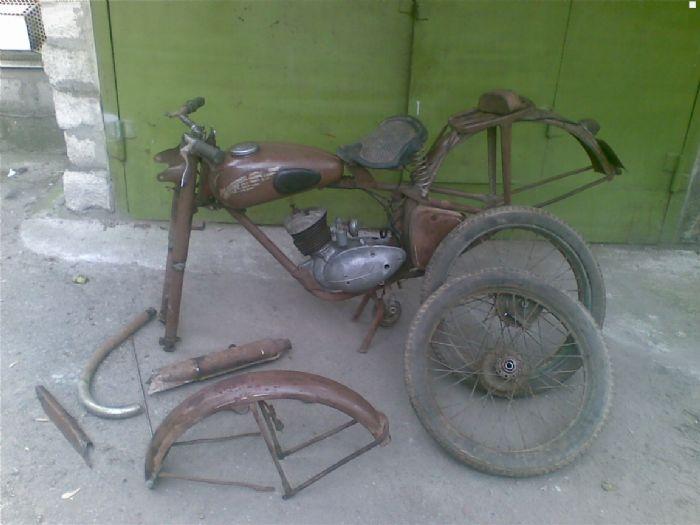 Продажа Минск К 125 1956 года 125.0 л, пробег 13 тыс.км ...