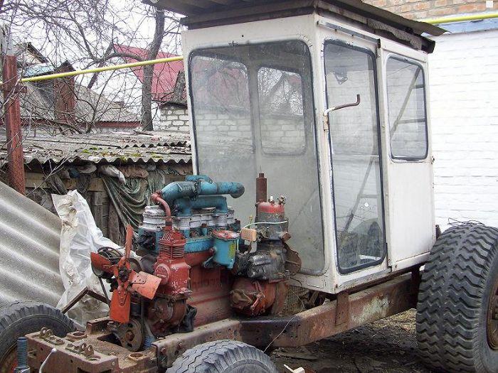 Самодельный трактор по украине