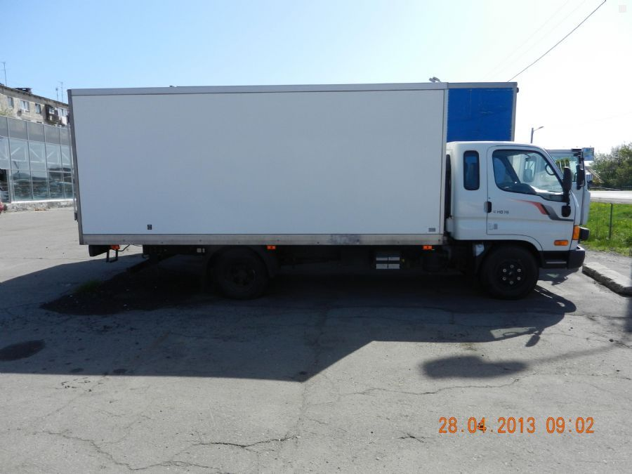 Hyundai hd 78 2008 3 9 10 for Garage hyundai 78