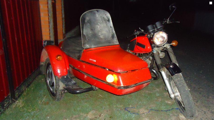 коляска на мотоцикл иж 5