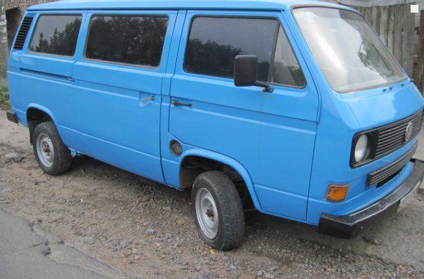 Продажа Volkswagen Т2 пас.В 1989 года 1.6 л Киев - автобазар ...