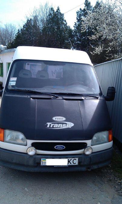 форд транзит 1997 технические характеристики дизель