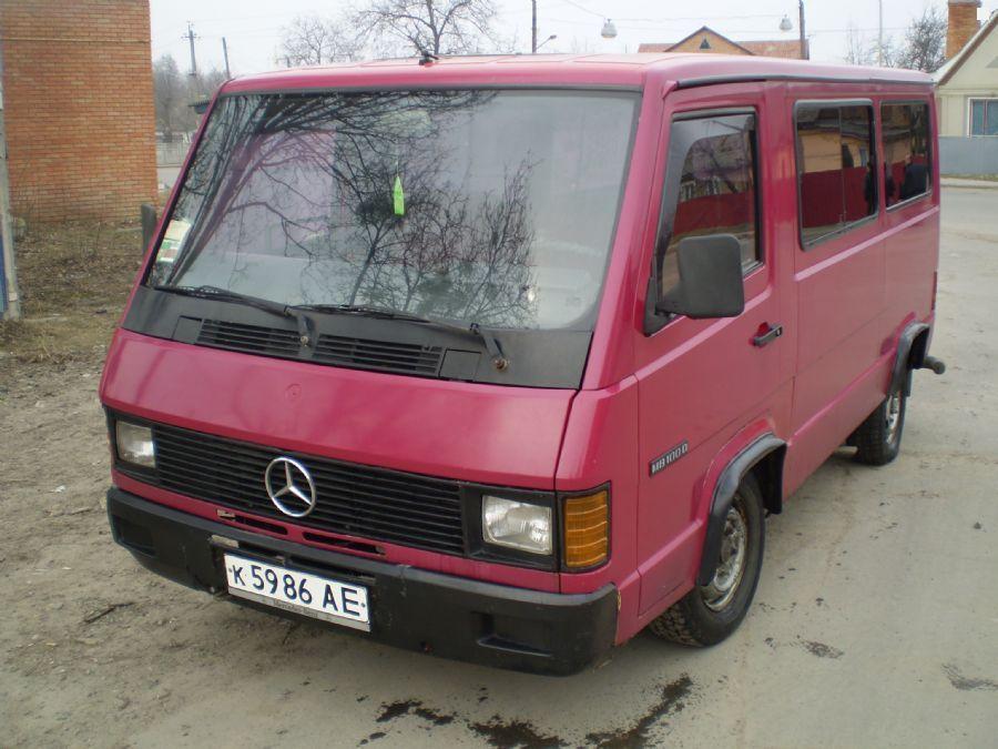 Mercedes benz mb100d 1988 2 4 for Mercedes benz mb100d