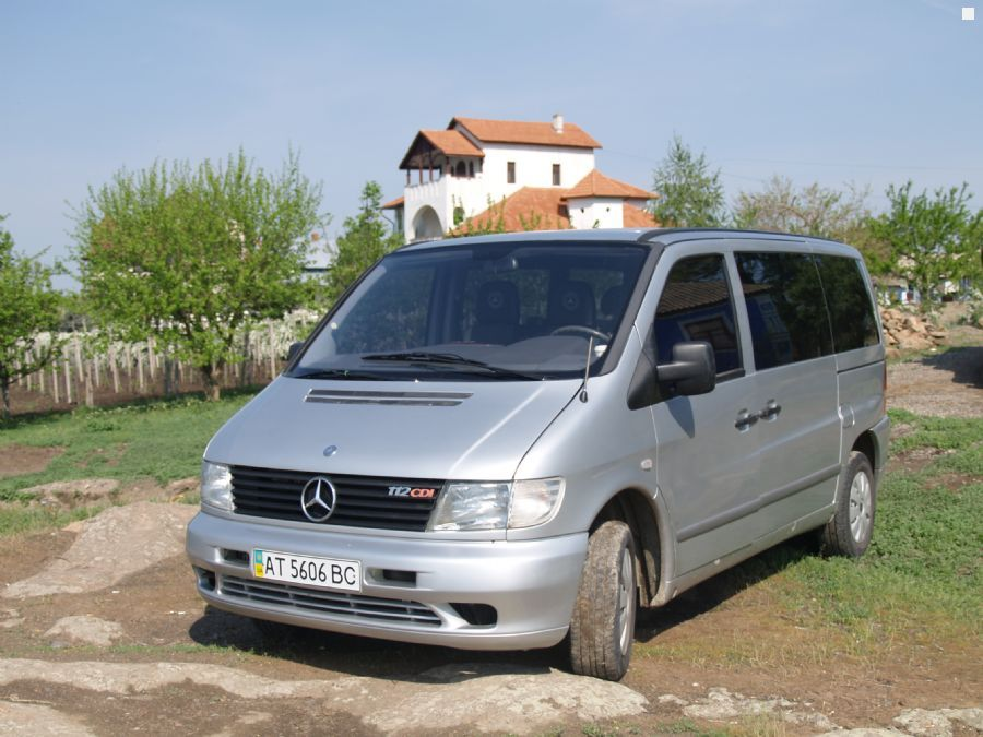 mercedes benz vito 112 cdi 2002 2 2 200. Black Bedroom Furniture Sets. Home Design Ideas