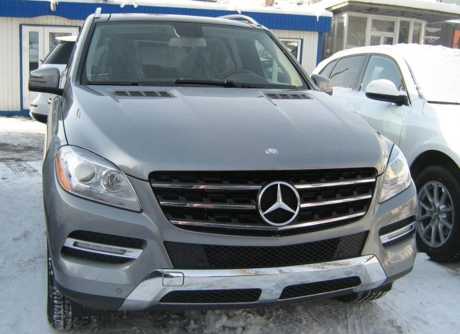 mercedes benz m class ml blue tec 2012 3 0