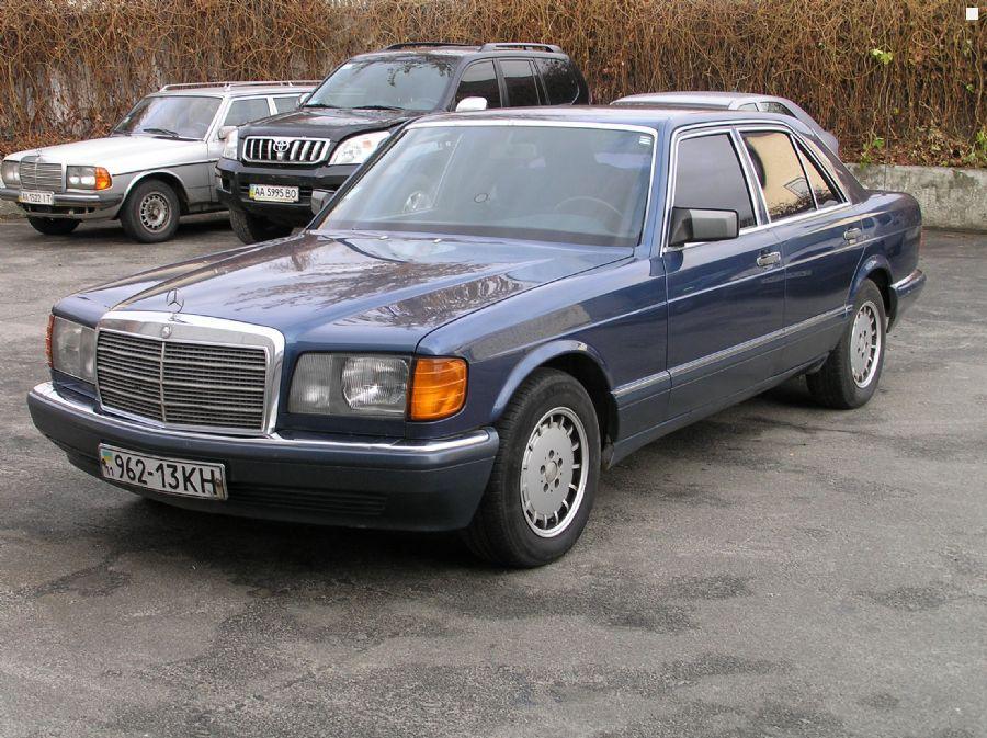Mercedes benz s class w126 se 260 1989 2 6 for Mercedes benz e350 service c
