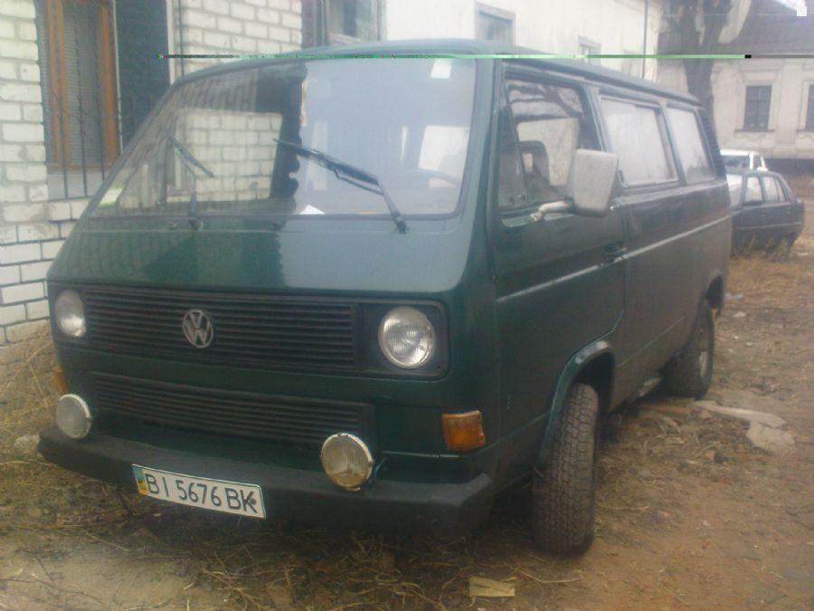 Продажа Volkswagen т-2 1989 года 1.6 л, пробег 200 тыс.км. Полтава ...