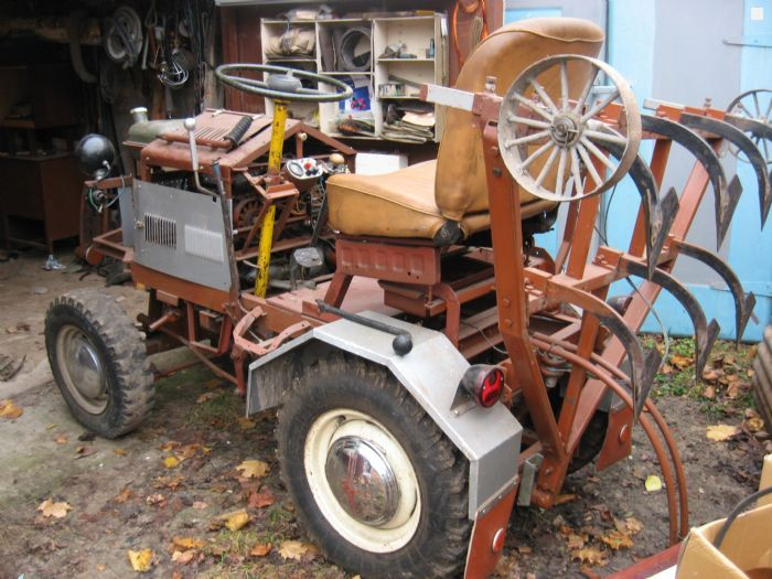 Трактор своими руками купити
