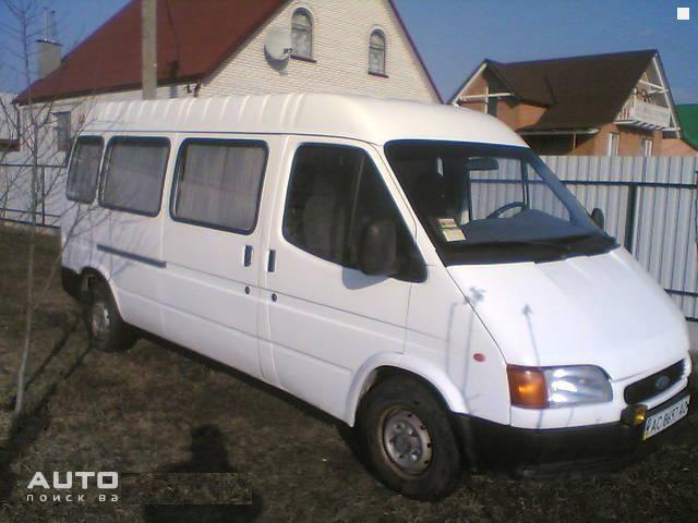 ford transit 1999 технические характеристики