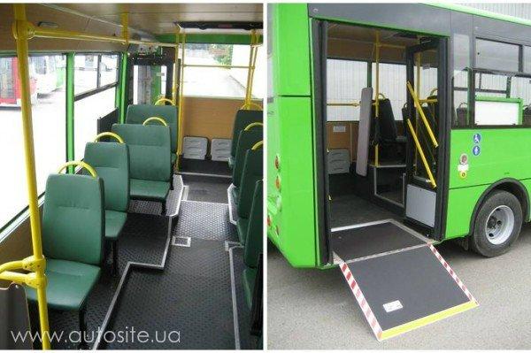 В Херсоне автобусов для перевозки инвалидов стало больше