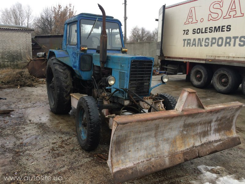 Коммунальная техника б/у трактор мтз-80 мтз-82